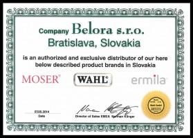 ... Moser Wahl Ermila certifikat ... a4bfe53de2d