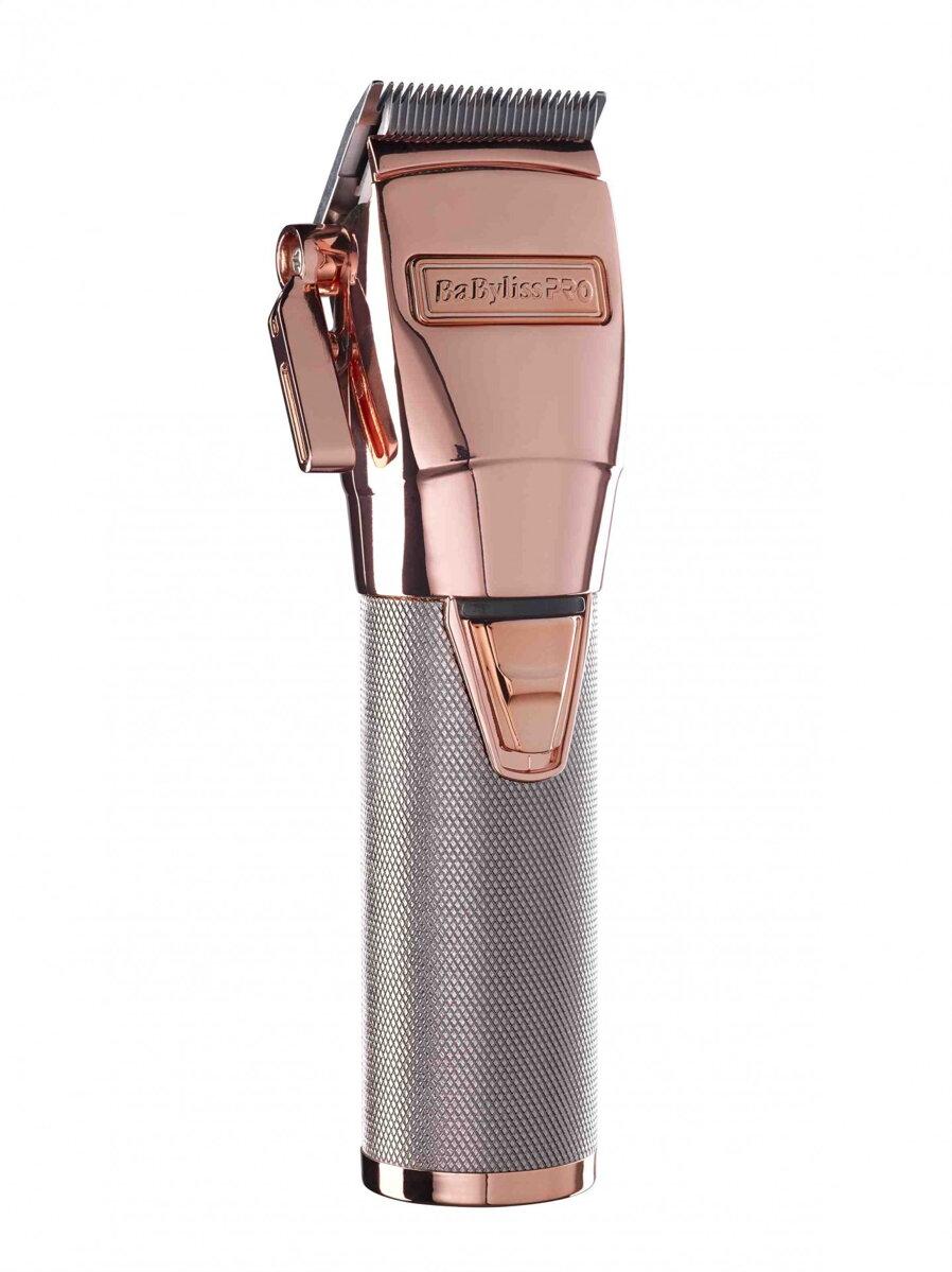 BABYLISS PRO FX8700RGE profesionálny strihací strojček na vlasy aku    káblový - rose gold f2fe2e41d5b