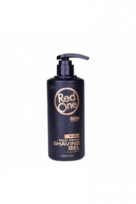 "RED ONE shaving gel transparentný ""gold"" 500 ml"