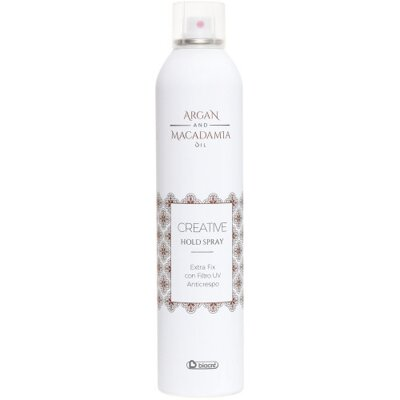 BIACRÉ Argan and Macadamia Oil lak na vlasy 400 ml