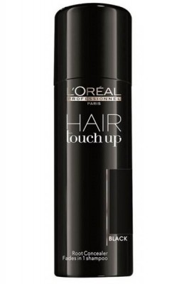 L'Oréal Professionnel Hair Touch Up Black - 75 ml